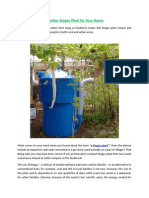 A Better Biogas Plant for Your Home