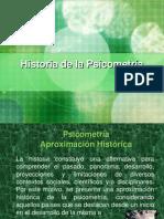Historia de La Psicometria
