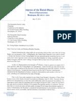 Hank Johnson VRAA Letter