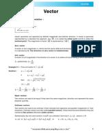 Vector Theory E