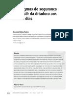 Paradigmas de Segurança Pública No Brasil Da Ditadura Aos Nossos Dias