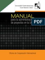 Manual Para La Administracion de Proyectos