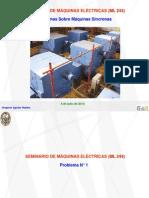 Problemas Sobre Máq. Síncronas - ML 244 - 04.07.2014