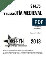 Filosofía Medieval 1