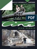 Programme Aout Septembre Renoir Martigues