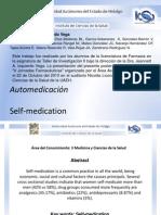 Poster Izquierdo Automedicacion