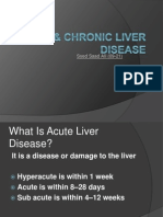 Acute & Chronic Liver Disease by paquinn
