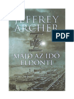Jeffrey Archer - Majd Az Idő Eldonti
