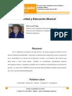Frega, Ana Lucía - Creatividad y Educación Musical