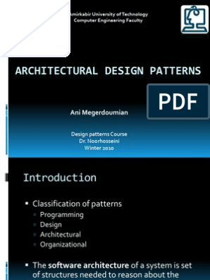 Architecturalpatterns Ppt Software Architecture System