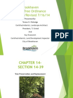 Tree Ordinance City of Brookhaven PPT Rev 7-16-14