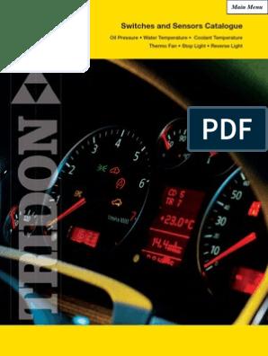 V20,V22,V24,V25 DG-Diesel *TRIDON* Stop Brake Light Switch For Daihatsu Delta