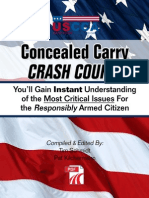 48409933 Concealed Weapon Crash Unknown
