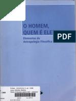 Elementos de Antropologia Filosófica-O Homem,quem é ele-Battista Mondin.pdf