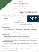 Decreto Nº 8033 SCS