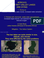East Africa's Lakes