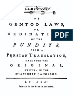 A Collection of Gentoo Laws