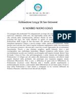 Comunicato Stampa-Nuovo Logo Logge Di San Giovanni