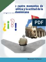 Síntesis de cuatro momentos de inflexión política y la actitud de la Izquierda dominicana