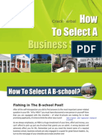 'How Should I Select a Business School' by CrackVerbal