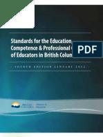 trb education stds