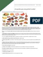 Quince Formas Fáciles de Perder Peso Sin Perder La Salud - ABC