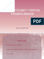 Cisco StyleMe™ Virtual Fashion Mirror
