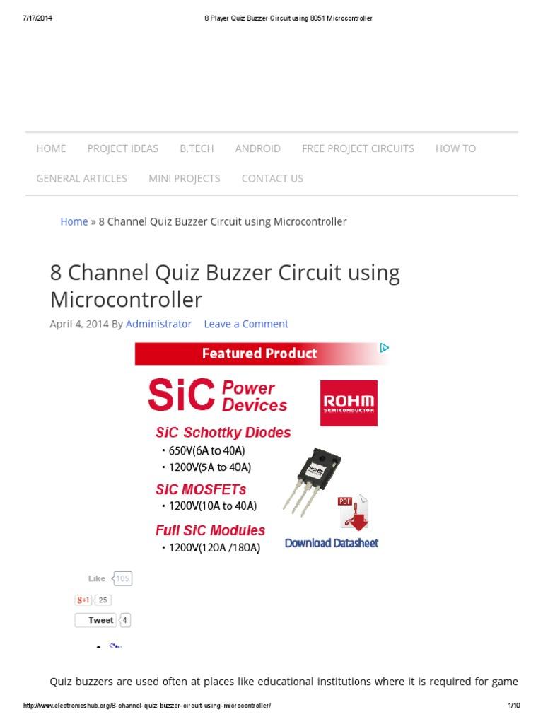Buzzer Circuit Diagram Powersupplycircuit Circuit Diagram