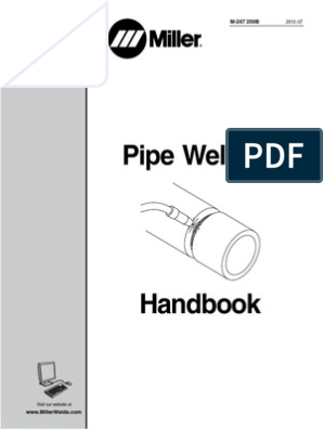 Miller RMD PipeWeldingHandbook | Electricity | Engineering