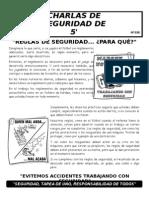 038-Reglas de Seguridad... Para Que