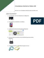 Cámaras IP Con Smartphone Android en Redes LAN