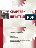 Week 1infinite Series