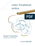 Antartica Systems Wstewater Treatment Tarasenko