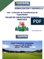 4. Llenado de Ficha Catastral Rural