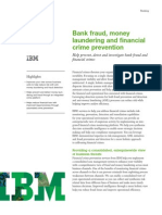 Bank Fraud Moneylaundering and Financialcrime Prevention