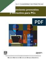 Preventivo y Correctivo Mantenimiento Pc