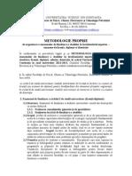 Regulamentul Privind Organizarea Si Desfasurarea Examenului de Finalizare a Studiilor