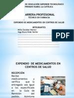 DISPENSACIÓN DE MEDICAMENTOS EN POSTAS EXPONER.pptx