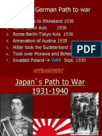 the japanese path to war best