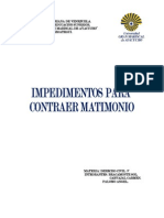 Civil v Impedimentos Para Contraer Matrimonio