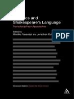 Advances in Stylistics Jonathan Culpeper Mireille Ravassat Stylistics and Shakespeare s Language Transdisciplinary Approaches Continuum 2011