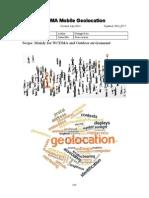UMTS/WCDMA Mobile/UE Geolocation
