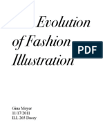 The Evolution of Fashion Illustration