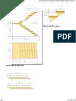 1. Cálculo de Las Escaleras Articuladas en 180 Grados