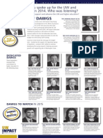 2014 UW Impact Legislative Scorecard