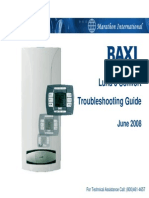 Baxi Luna3 Comfort Troubleshooting Guide
