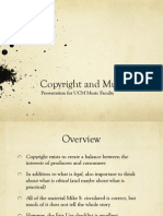 Copyright Talk (for Music Profs)