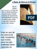 Ejercicios Para Bajar de Peso en La Piscina