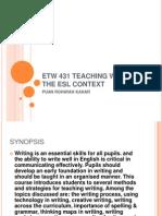 AeU Writing Slides