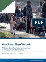 One Storm Shy of Despair